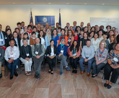 TCLP Participants at the New U.S. Diplomacy Center